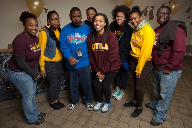 Black Student Union members give back