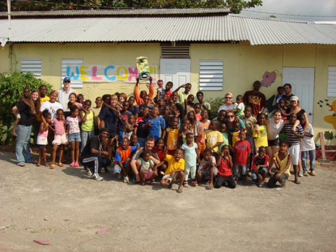 Loyola students spent 12 days in Jamaica teaching