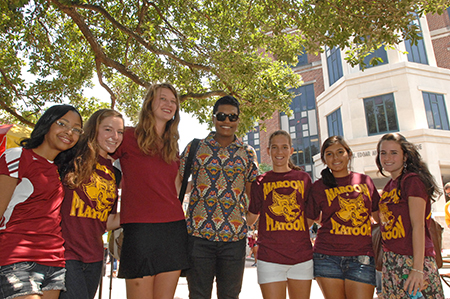 Maroon and Gold Day Group