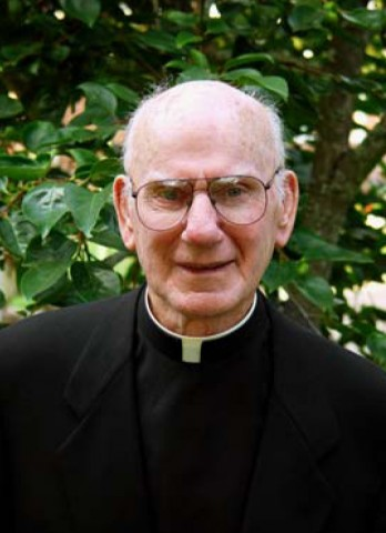 Past president of Loyola Michael F Kennelly SJ