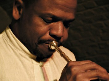 Jazz trumpeter Leroy Jones